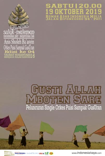 Suluk Maleman Edisi Oktober 2019