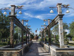 Bermain di Taman Kota Palangkaraya