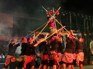 Puncak Perayaan Hari Lahir ke 270 Kota Solo Gelar Tari Kolosal