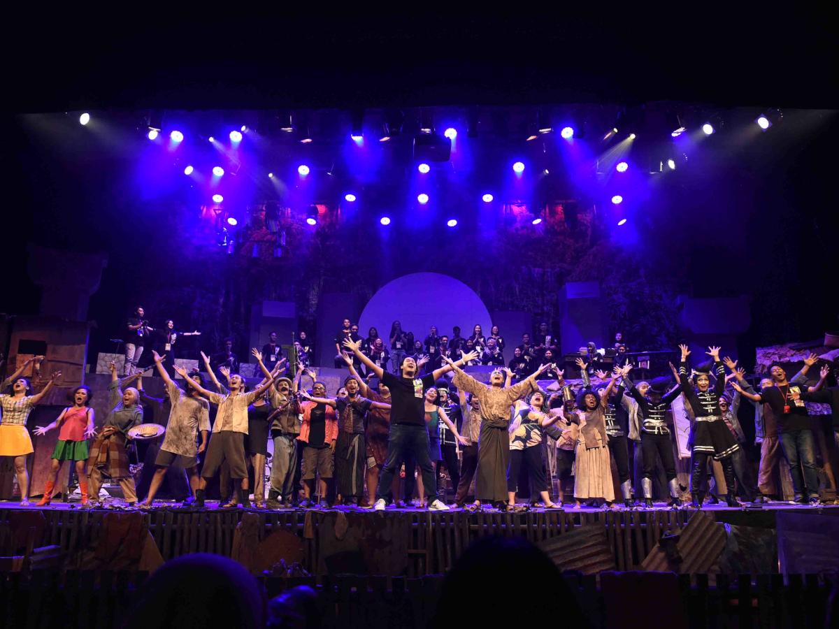 Teater Koma Mempersembahkan Lakon J.J Sampah-Sampah Kota