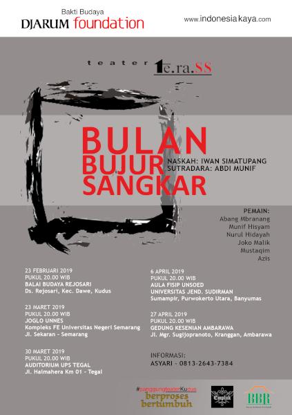 """Teater Terass Pentas """"Bulan Bujur Sangkar"""""""