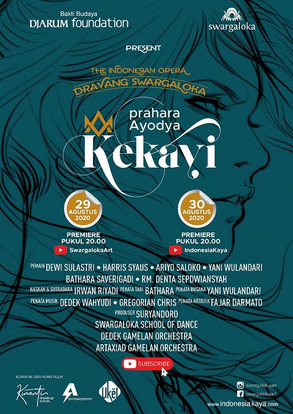 "The Indonesian Opera Drayang Swargaloka ""KEKAYI"""