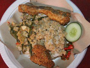 Nasi Tiwul Ikan Kelong Khas Pacitan