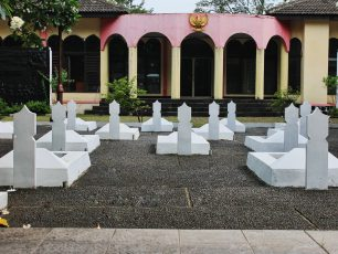 Taman Makam Pahlawan Taruna, Peristirahatan Terakhir Perwira Tangerang