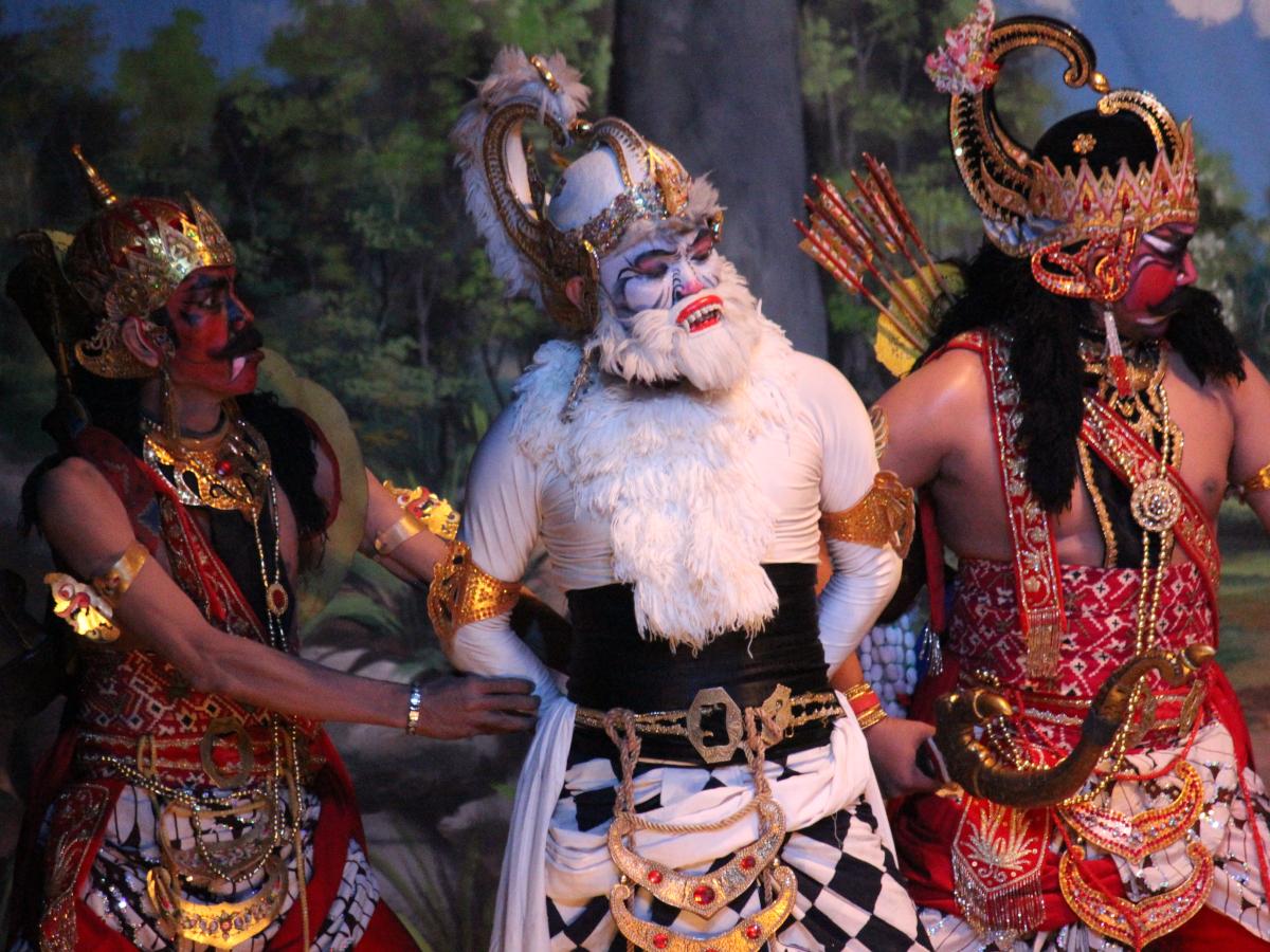 Wayang Orang Bharata Mempersembahkan Lakon Anoman Dhuta