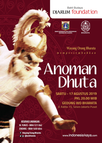 WO Bharata Mempersembahkan Lakon Anoman Dhuta