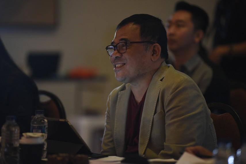 Garin Nugroho, juri audisi Ruang Kreatif Indonesia Menuju Broadway
