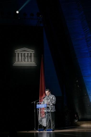 Kata sambutan dari Letnan Jenderal TNI (Purn.) Hotmangaradja M.P. Pandjaitan, Duta Besar RI untuk Perancis dan Delegasi Tetap RI untuk Unesco