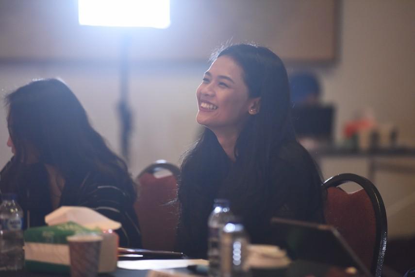 Ufa Sofura, juri audisi Ruang Kreatif Indonesia Menuju Broadway