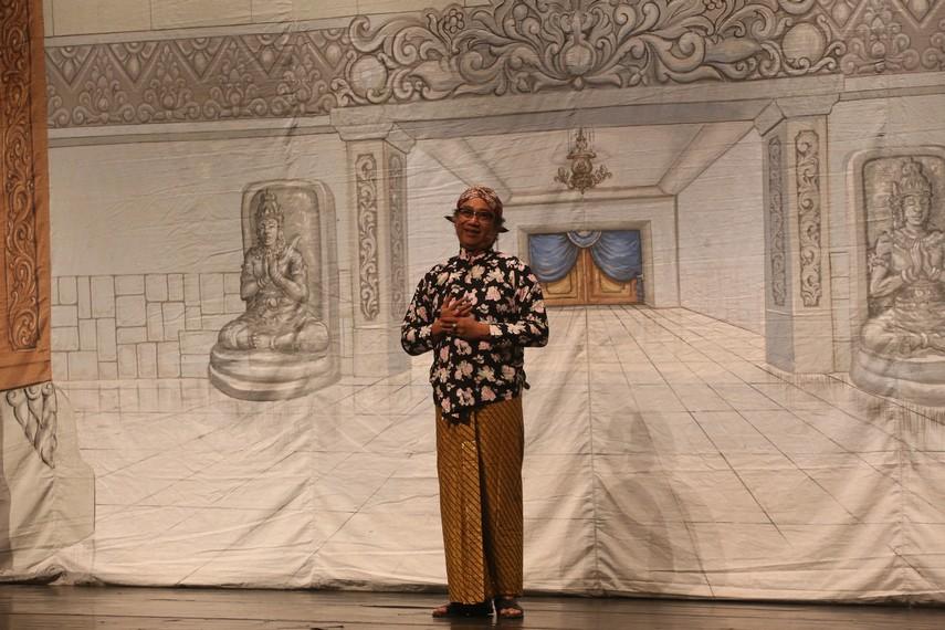 Butet Kartaredjasa penggagas program Indonesia Kita