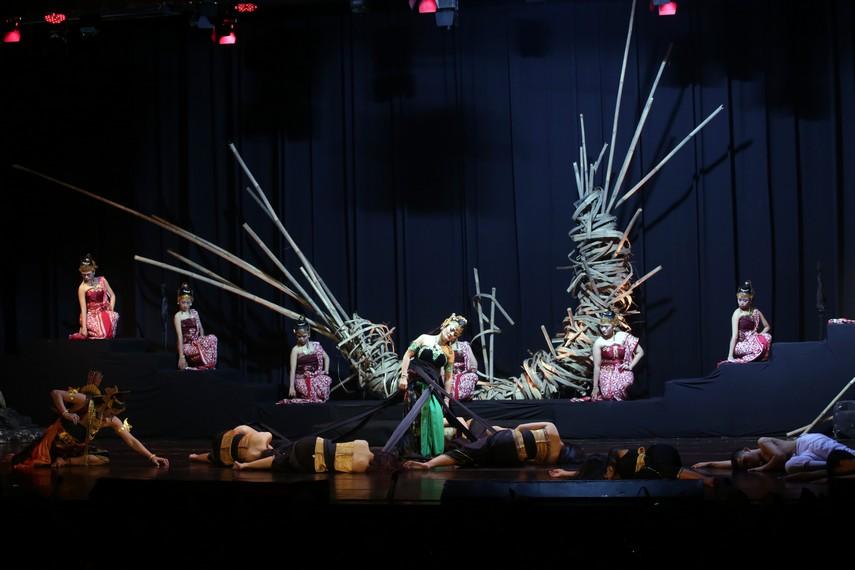 Drama Wayang Swargaloka mempersembahkan karya berjudul Banowati