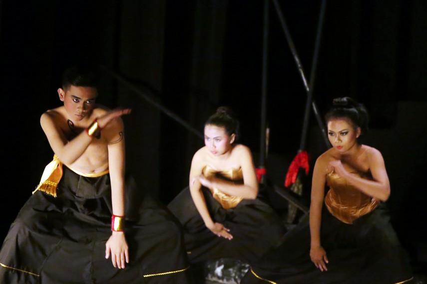 Drama Wayang Swargaloka menggabungkan koreografi modern dan tradisi