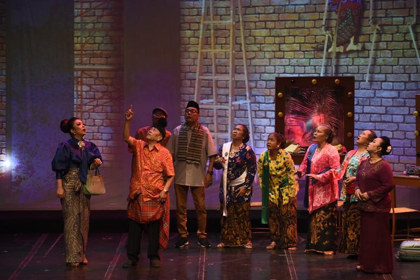 Pertunjukan Indonesia Kita tahun 2019 berjudul Kanjeng Sepuh