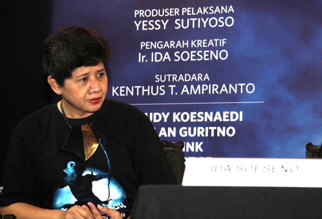 Ida Soeseno, Artistic Director pergelaran Arjuna Galau