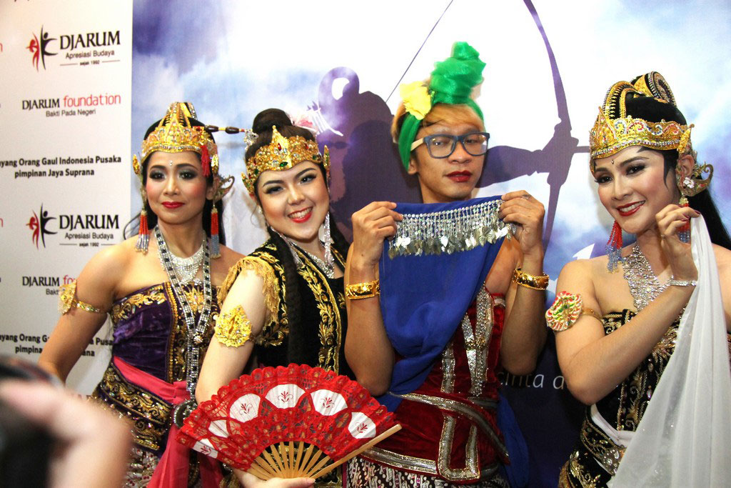 Public Figure turut mendukung pergelaran Arjuna Galau