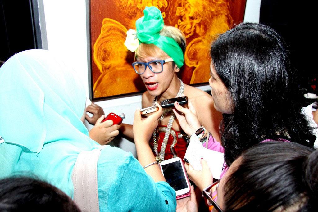 Wawancara media kepada Aming