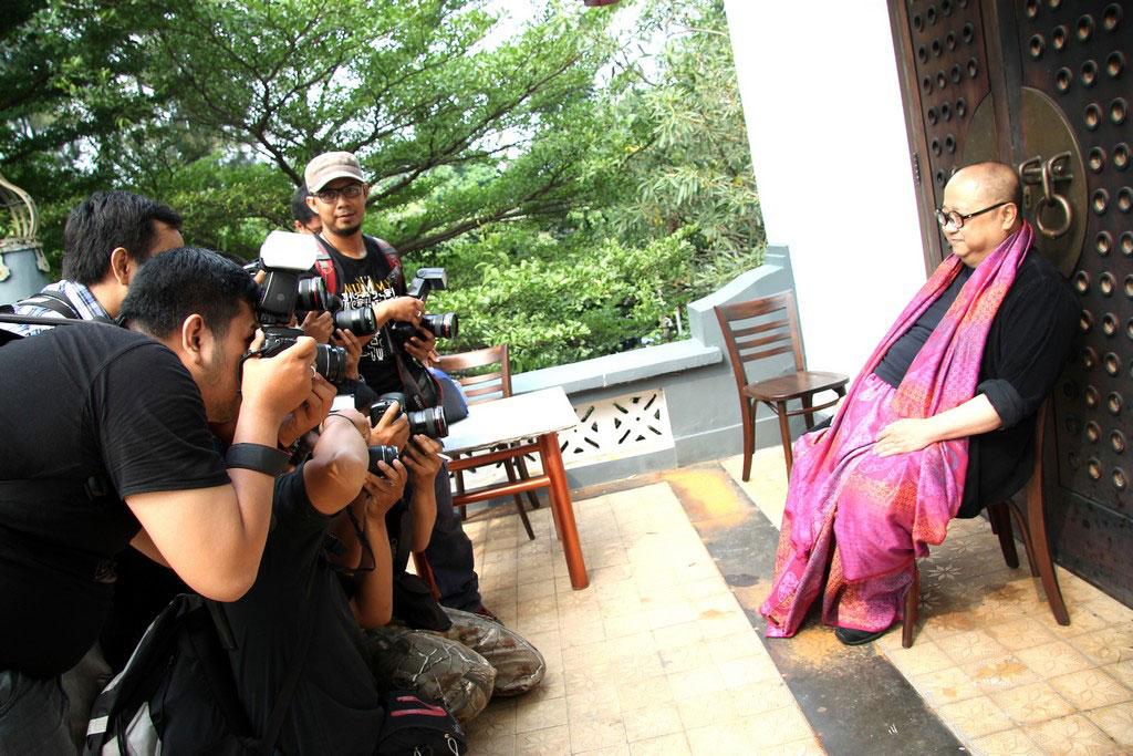 Wawancara media kepada Jaya Suprana