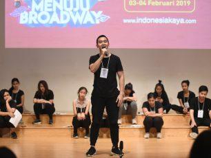 INDONESIA MENUJU BROADWAY Raih Kesempatan Untuk Ikut Pelatihan Broadway di New York