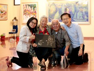 "Pameran Seni Rupa SSIA""The 10th Indonesia-Japan Cultural Exchange"""