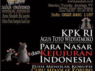 "Suluk Maleman ""Para Nasar dan Kejujuran Indonesia"""