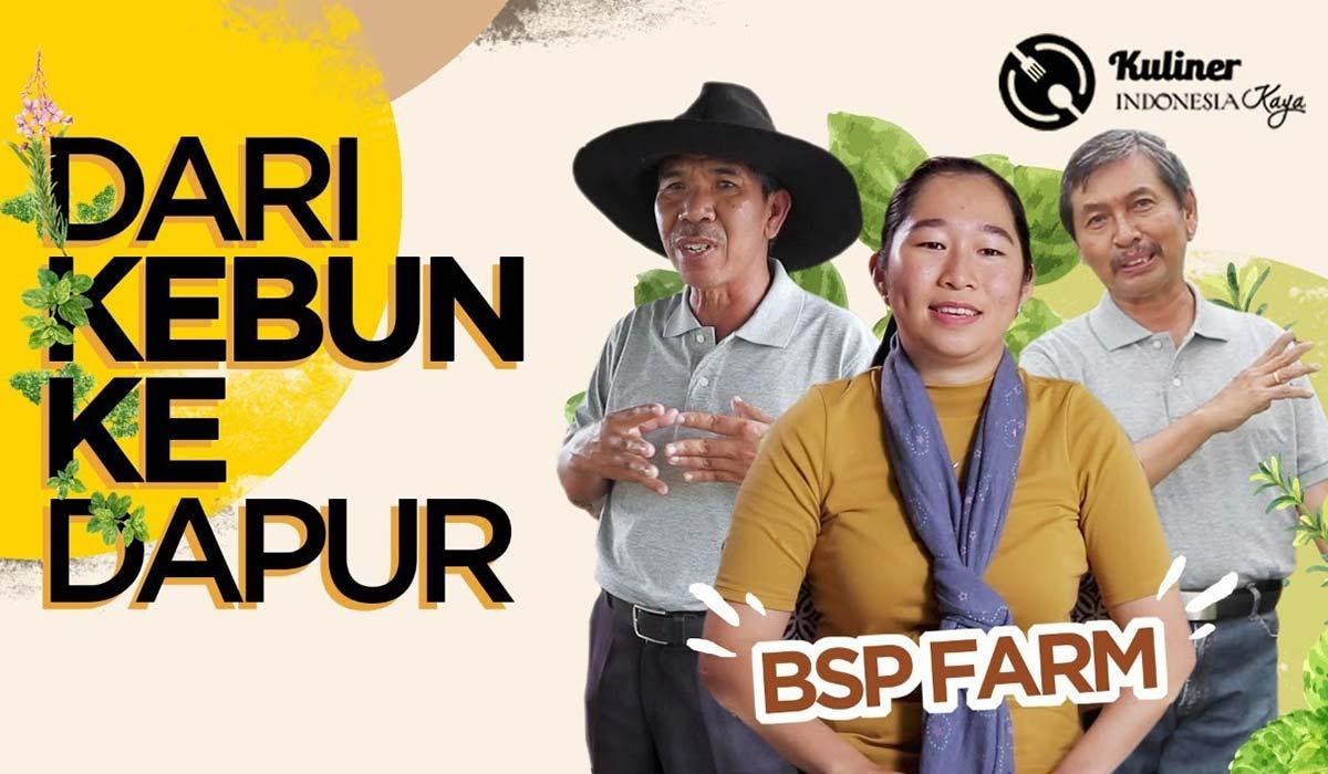 KULINER INDONESIA KAYA (Dari Kebun ke Dapur) Eps. BSP Farm